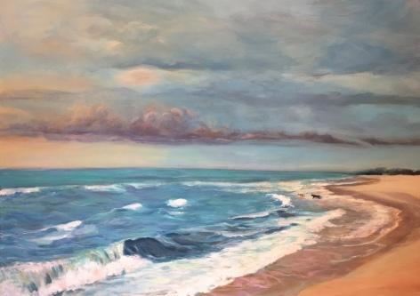 Beach Scene for Ancilla - North Carolina