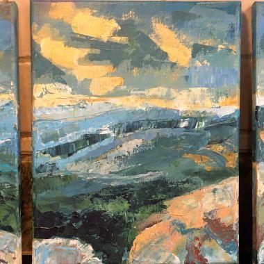 Mary's Rock triptych