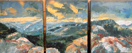 Mary's Rock triptych