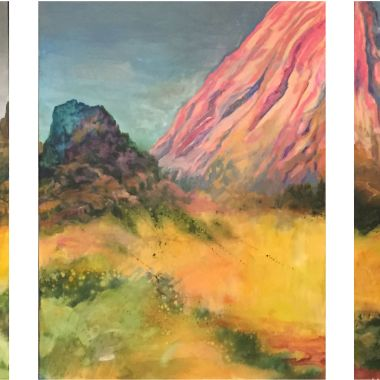 Large format Triptych